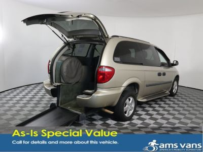 Used Wheelchair Van for Sale - 2006 Dodge Grand Caravan SE Wheelchair Accessible Van VIN: 1D4GP24R16B717084