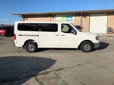 WHITE Nissan NV Passenger image number 6