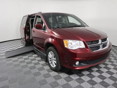 New Wheelchair Van for Sale - 2019 Dodge Grand Caravan SXT Wheelchair Accessible Van VIN: 2C4RDGCG5KR661836