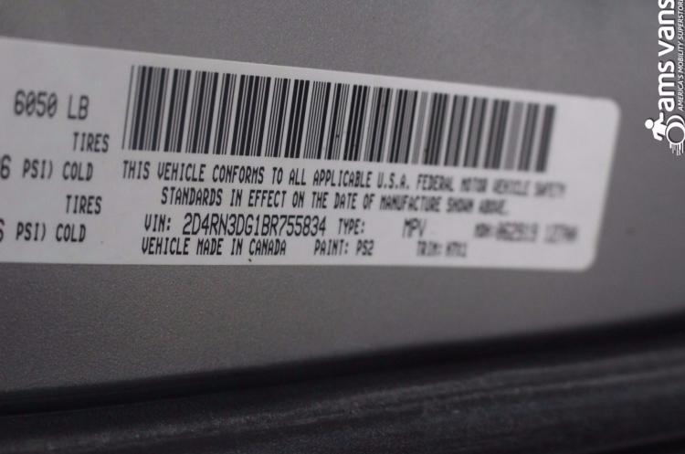 2011 Dodge Grand Caravan Mainstreet Wheelchair Van For Sale #24