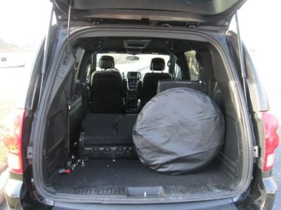 Black Dodge Grand Caravan image number 14