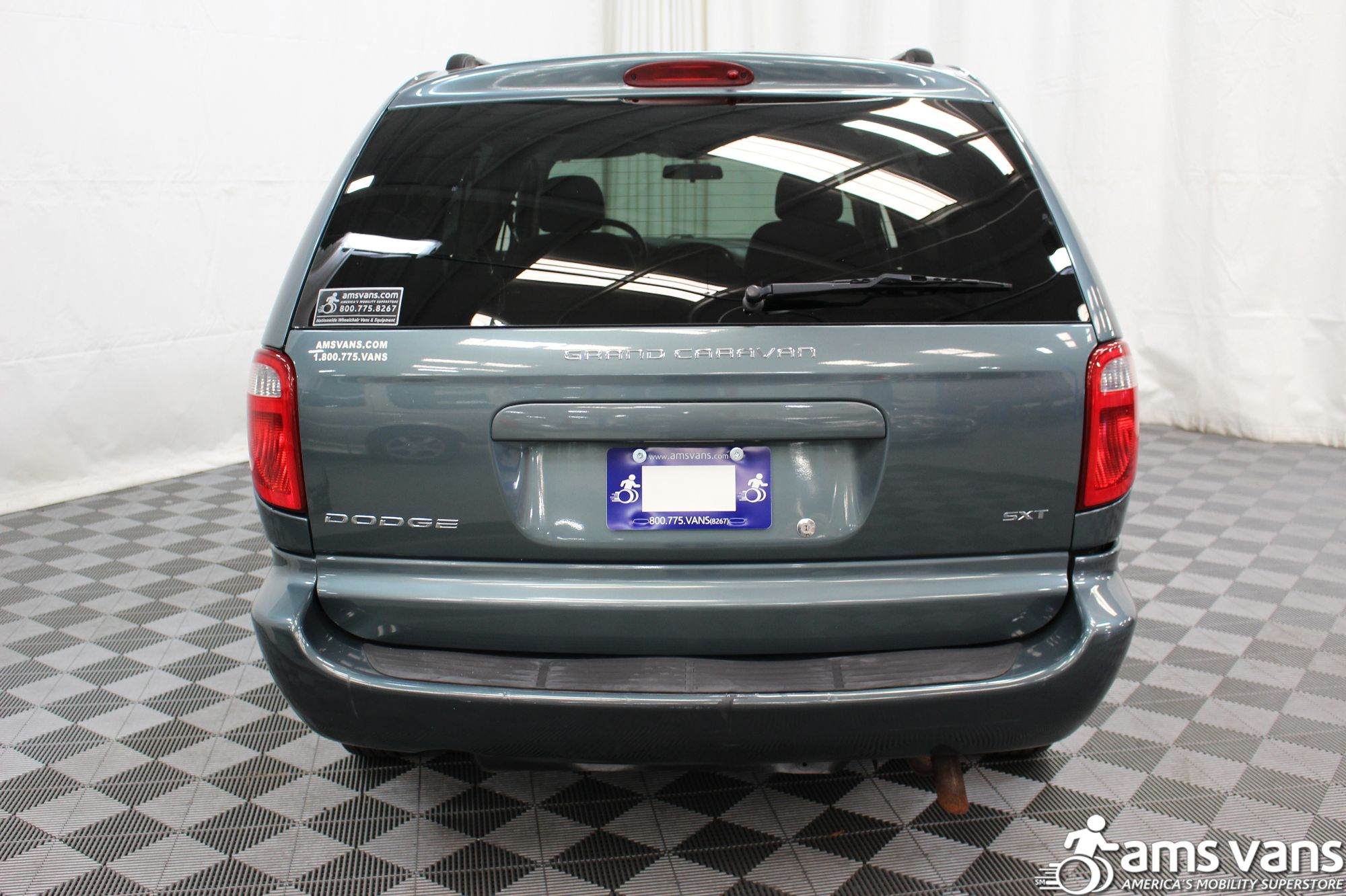 2007 Dodge Grand Caravan SXT Wheelchair Van For Sale #9