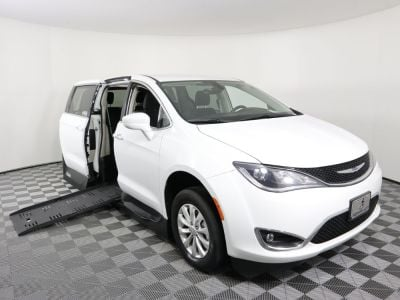 New Wheelchair Van for Sale - 2018 Chrysler Pacifica Touring Plus Wheelchair Accessible Van VIN: 2C4RC1FG4JR214280