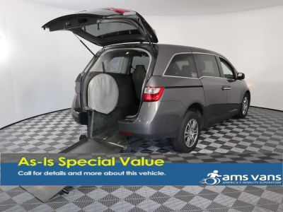 Handicap Van for Sale - 2012 Honda Odyssey EX Wheelchair Accessible Van VIN: 5FNRL5H4XCB047979