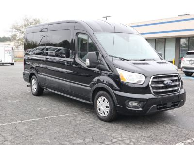 Handicap Van for Sale - 2020 Ford Transit Passenger Mid-Roof 350 XLT - 15 Wheelchair Accessible Van VIN: 1FBAX2C84LKA15174