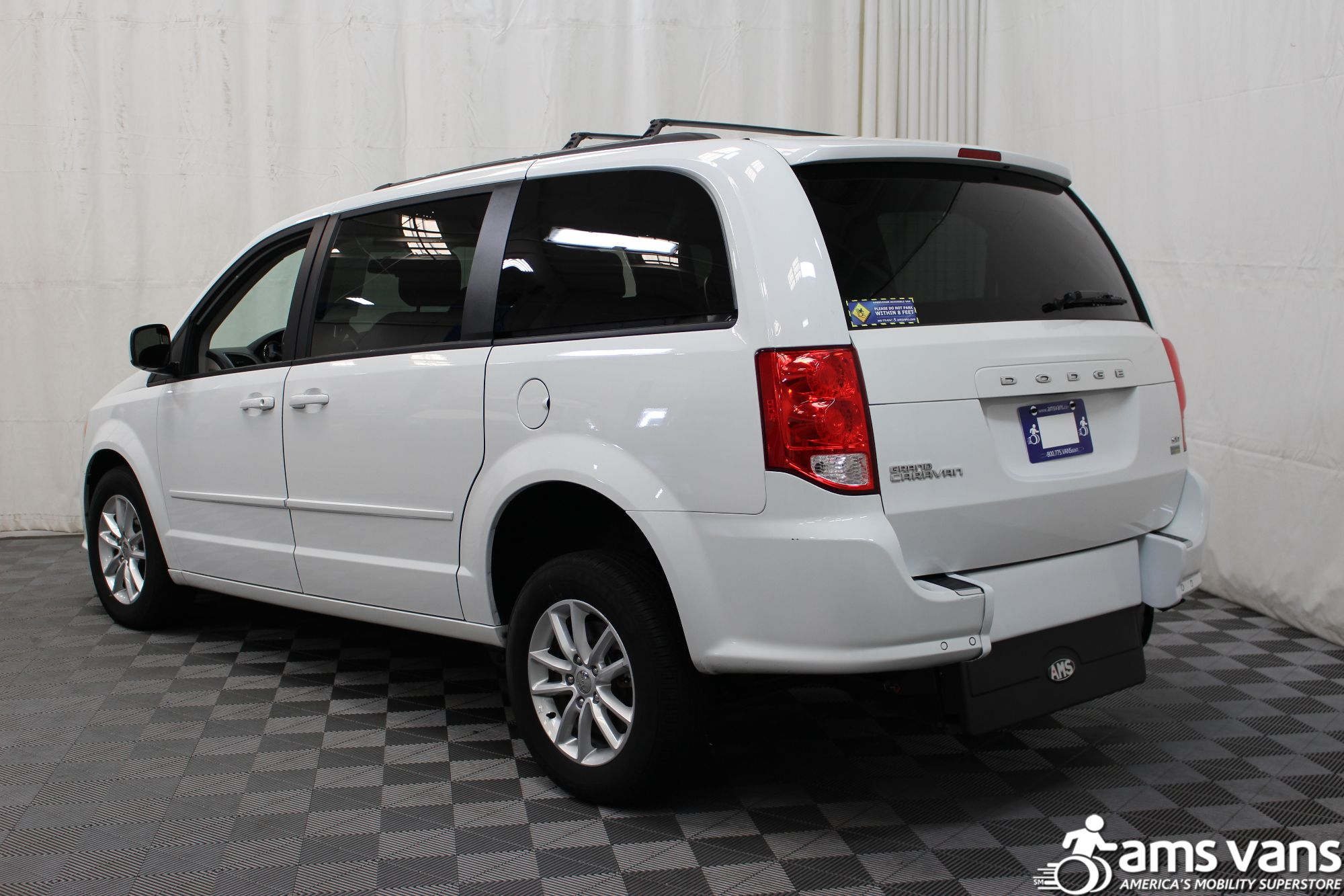 2015 Dodge Grand Caravan SXT Wheelchair Van For Sale #9