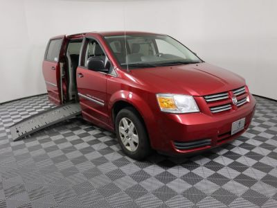 Used Wheelchair Van for Sale - 2008 Dodge Grand Caravan SE Wheelchair Accessible Van VIN: 2D8HN44H38R669846