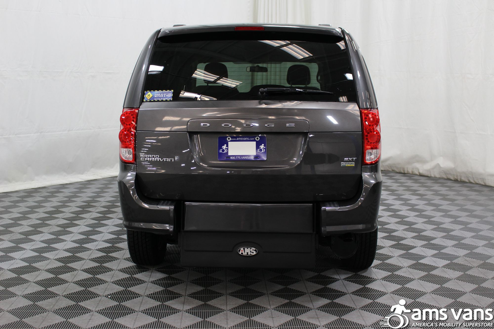 2015 Dodge Grand Caravan SXT Wheelchair Van For Sale #12