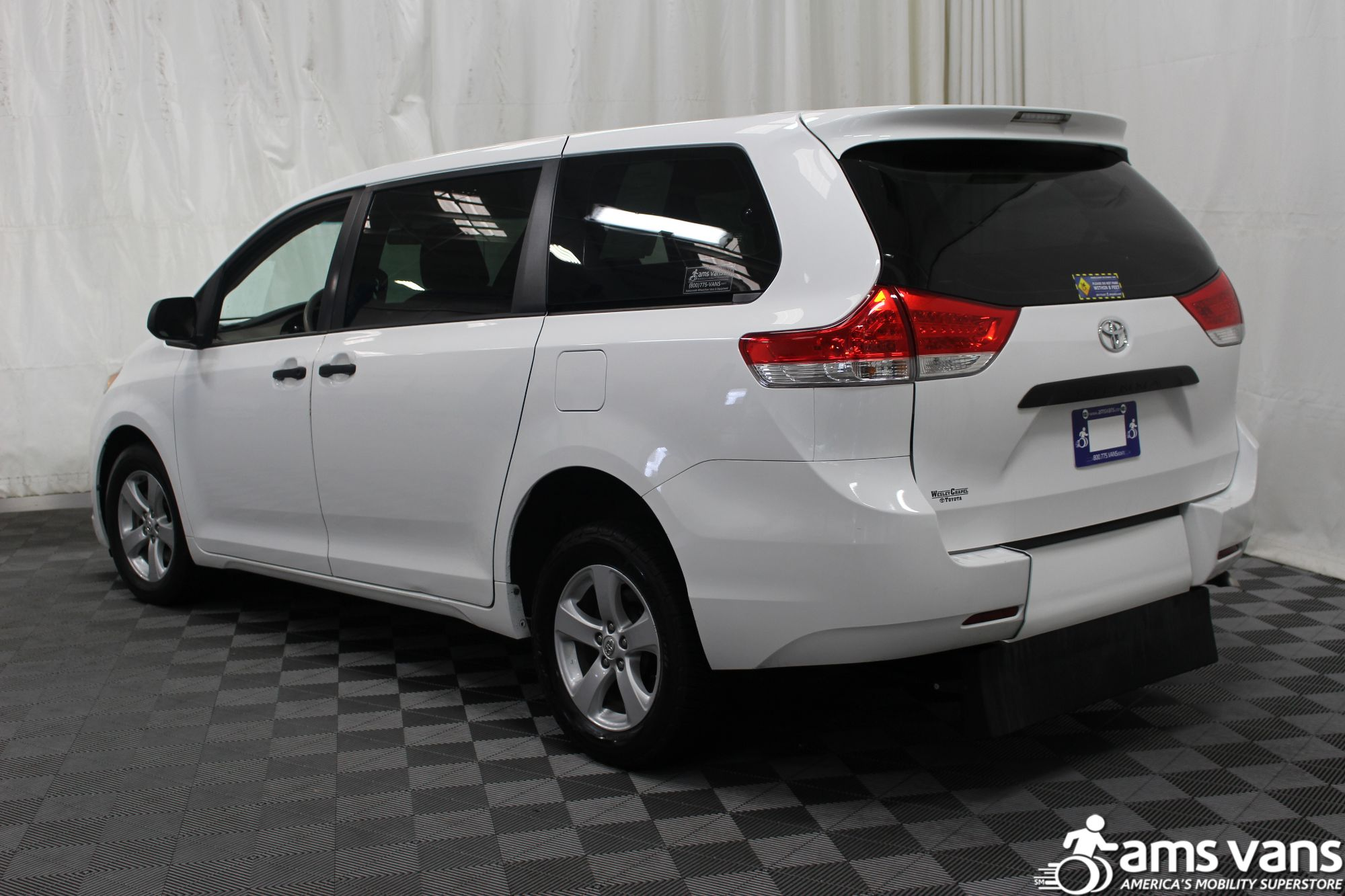 2013 Toyota Sienna L Wheelchair Van For Sale #12