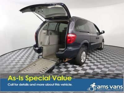 Handicap Van for Sale - 2007 Dodge Grand Caravan SE Wheelchair Accessible Van VIN: 1D4GP24RX7B202800