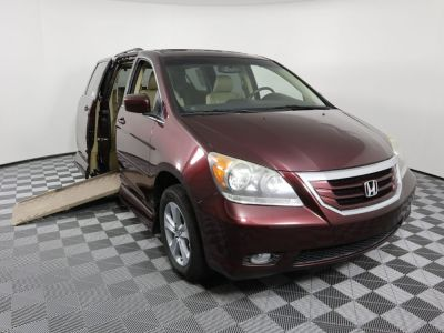 Used Wheelchair Van for Sale - 2009 Honda Odyssey Touring Wheelchair Accessible Van VIN: 5FNRL38949B054290