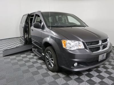 Handicap Van for Sale - 2017 Dodge Grand Caravan SXT Wheelchair Accessible Van VIN: 2C4RDGCG0HR801655