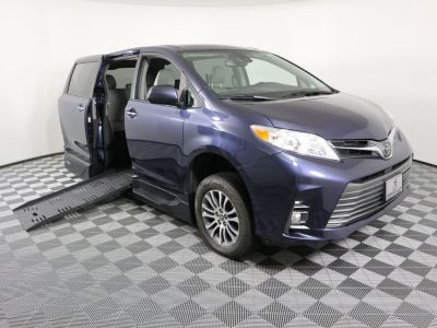 New Wheelchair Van for Sale - 2019 Toyota Sienna XLE Wheelchair Accessible Van VIN: 5TDYZ3DC1KS013581