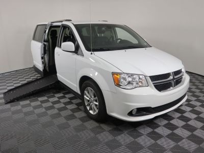 Handicap Van for Sale - 2019 Dodge Grand Caravan SXT Wheelchair Accessible Van VIN: 2C4RDGCG9KR517335