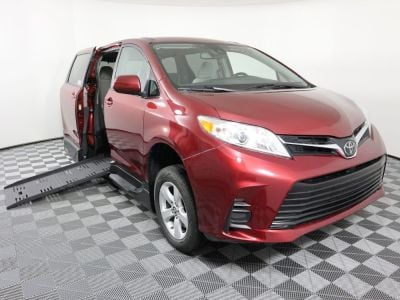 New Wheelchair Van for Sale - 2019 Toyota Sienna LE Standard Wheelchair Accessible Van VIN: 5TDKZ3DC0KS991463