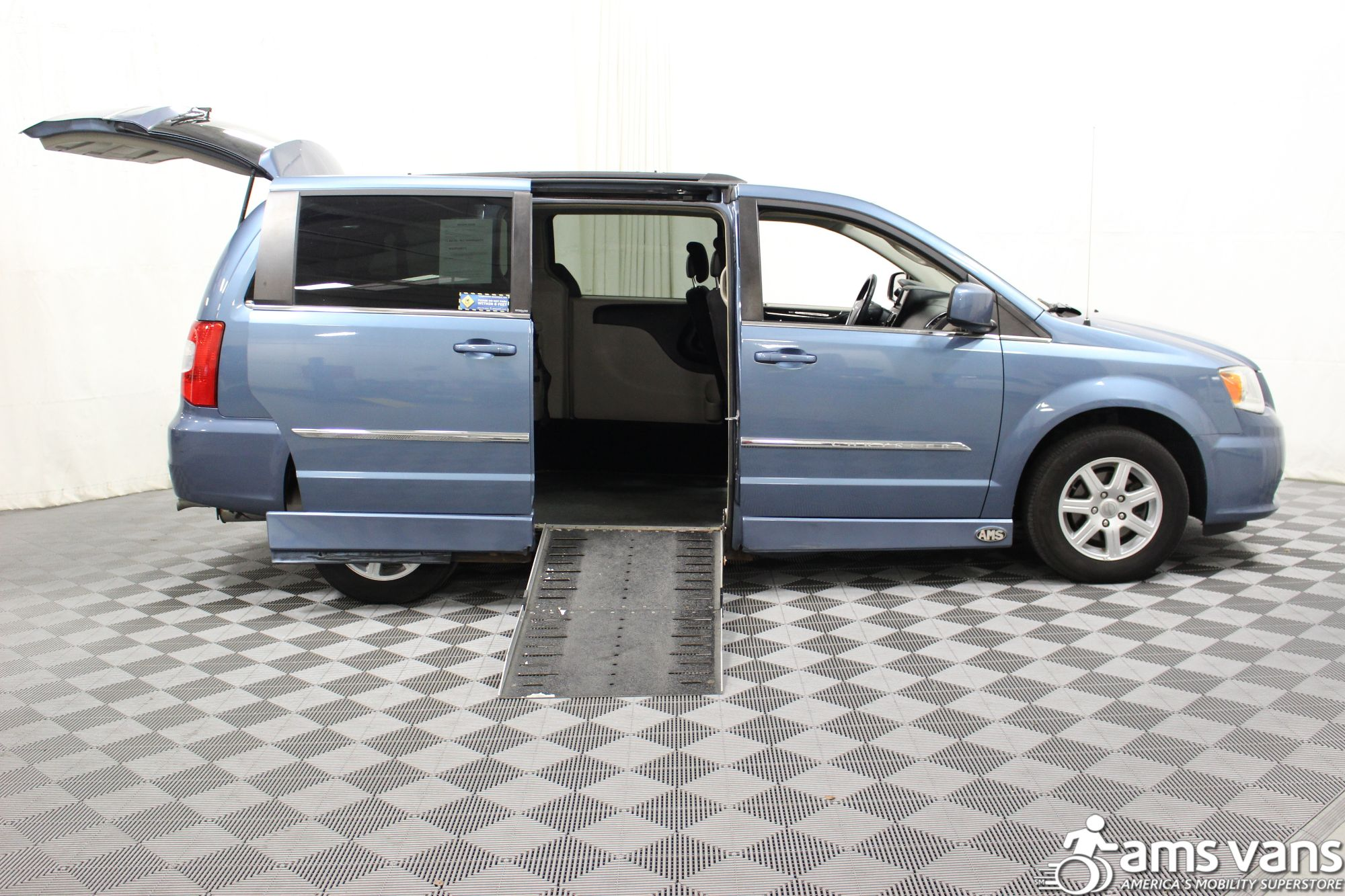 2012 Chrysler Town and Country Touring Wheelchair Van For Sale #2