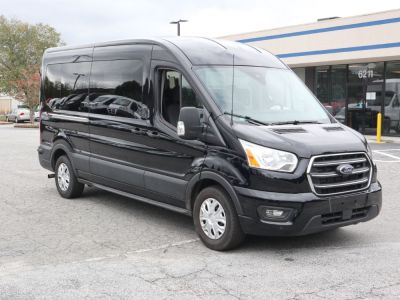 New Wheelchair Van for Sale - 2020 Ford Transit Passenger Mid-Roof 350 XLT - 15 Wheelchair Accessible Van VIN: 1FBAX2C89LKA15171