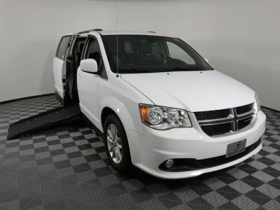 Handicap Van for Sale - 2019 Dodge Grand Caravan SXT Wheelchair Accessible Van VIN: 2C4RDGCG7KR542296