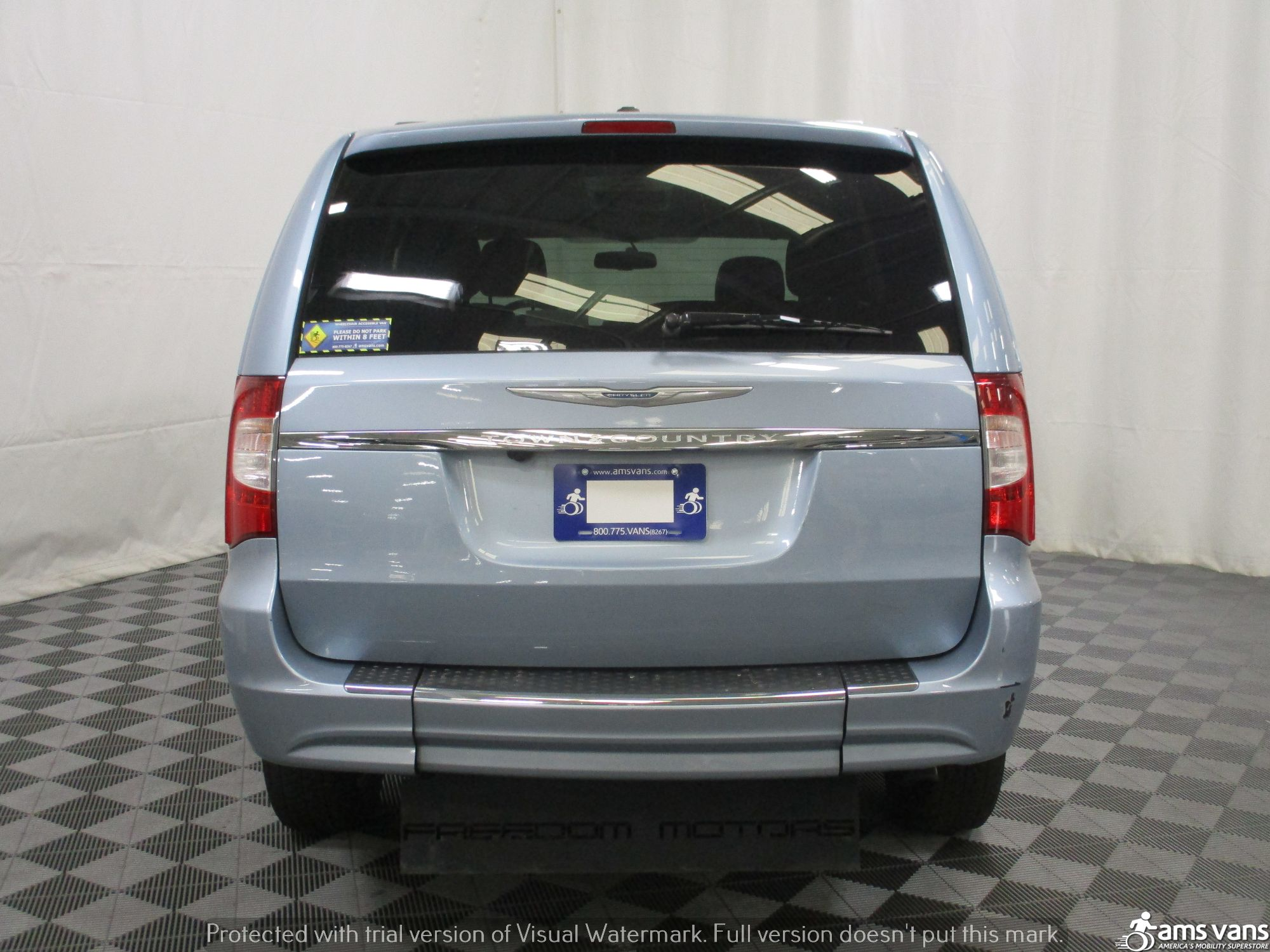 2013 Chrysler Town and Country Wheelchair Van For Sale #11