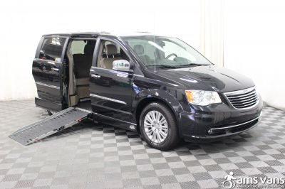 Used 2015 Chrysler Town & Country Limited Platinum Wheelchair Van