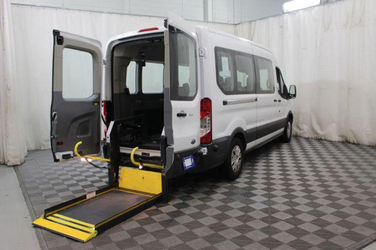 9bc336c16e180e 2017 Ford Transit Passenger 350 XLT - Stock   B13805 Handicap Van ...
