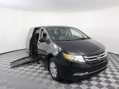 Handicap Van for Sale - 2014 Honda Odyssey EX-L Wheelchair Accessible Van VIN: 5FNRL5H67EB047684