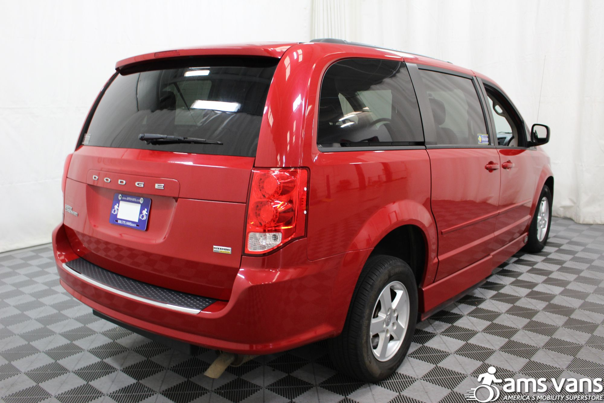 2012 Dodge Grand Caravan SXT Wheelchair Van For Sale #12