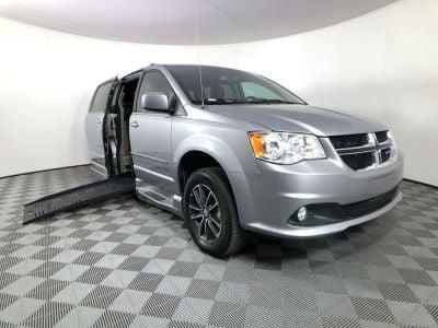 Handicap Van for Sale - 2017 Dodge Grand Caravan SXT Wheelchair Accessible Van VIN: 2C4RDGCG7HR847239
