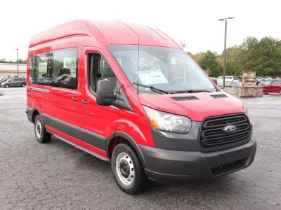 Handicap Van for Sale - 2019 Ford Transit High Roof 350 - 12 Wheelchair Accessible Van VIN: 1FBZX2XM9KKB49106
