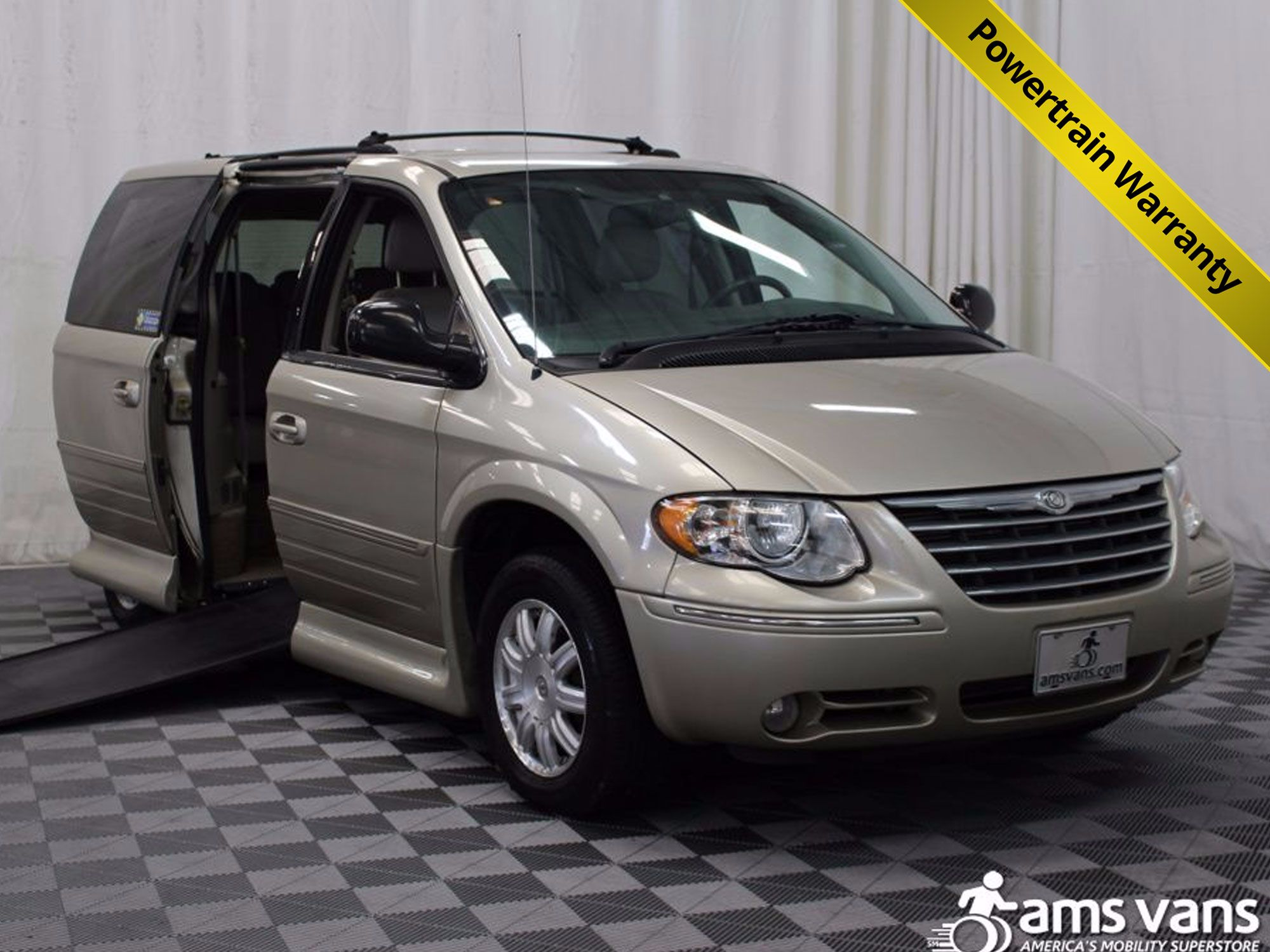 2005 Chrysler Town and Country Touring Wheelchair Van For Sale #1