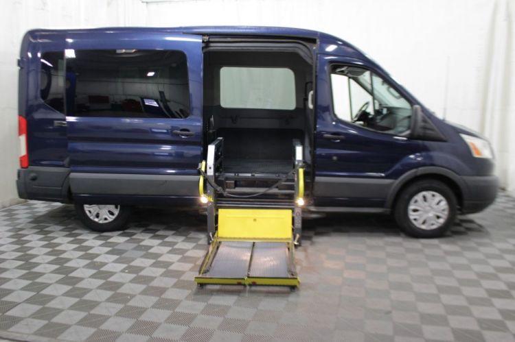 2016 Ford Transit Passenger 350 XLT - Stock # A56231