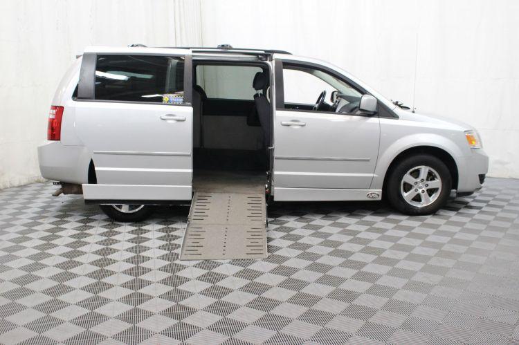 bb7c6dec551172 2010 Dodge Grand Caravan SXT - Stock   119234A Handicap Van for Sale