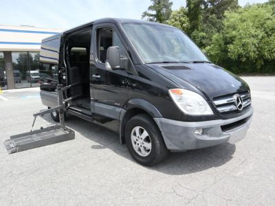 Commercial Wheelchair Vans for Sale - 2011 Mercedes-Benz Sprinter Passenger 2500 ADA Compliant Vehicle VIN: WDZPE7CC4B5517662