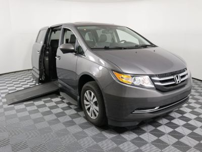 Used Wheelchair Van for Sale - 2014 Honda Odyssey EX-L Wheelchair Accessible Van VIN: 5FNRL5H69EB064552