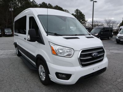 New Wheelchair Van for Sale - 2020 Ford Transit Passenger Mid-Roof 350 XLT - 15 Wheelchair Accessible Van VIN: 1FBAX2C81LKA23359