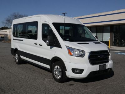 New Wheelchair Van for Sale - 2020 Ford Transit Passenger Mid-Roof 350 XLT - 12 Wheelchair Accessible Van VIN: 1FBAX2C87LKA23625