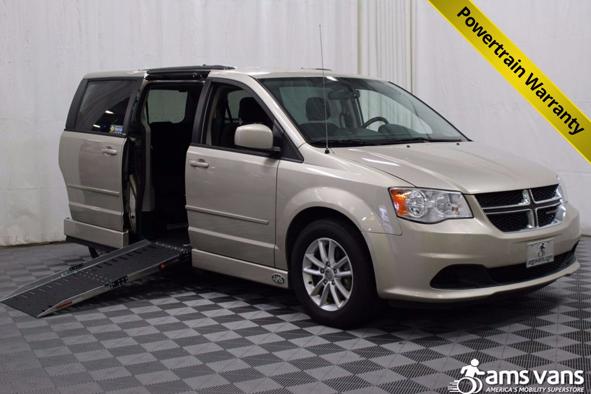 2013 Dodge Grand Caravan SXT Wheelchair Van For Sale #1