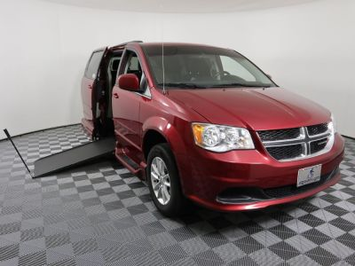 Handicap Van for Sale - 2015 Dodge Grand Caravan SXT Wheelchair Accessible Van VIN: 2C4RDGCG0FR526866