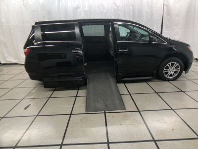 Used Wheelchair Van for Sale - 2012 Honda Odyssey EX-L Wheelchair Accessible Van VIN: 5FNRL5H60CB103610