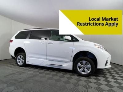 New Wheelchair Van for Sale - 2020 Toyota Sienna LE Mobility Wheelchair Accessible Van VIN: 5TDKZ3DC9LS079738