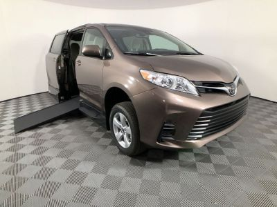 Handicap Van for Sale - 2020 Toyota Sienna LE Mobility Wheelchair Accessible Van VIN: 5TDKZ3DC6LS069359