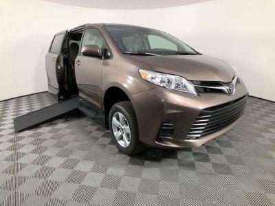 Handicap Van for Sale - 2020 Toyota Sienna LE Mobility Wheelchair Accessible Van VIN: 5TDKZ3DC6LS069359