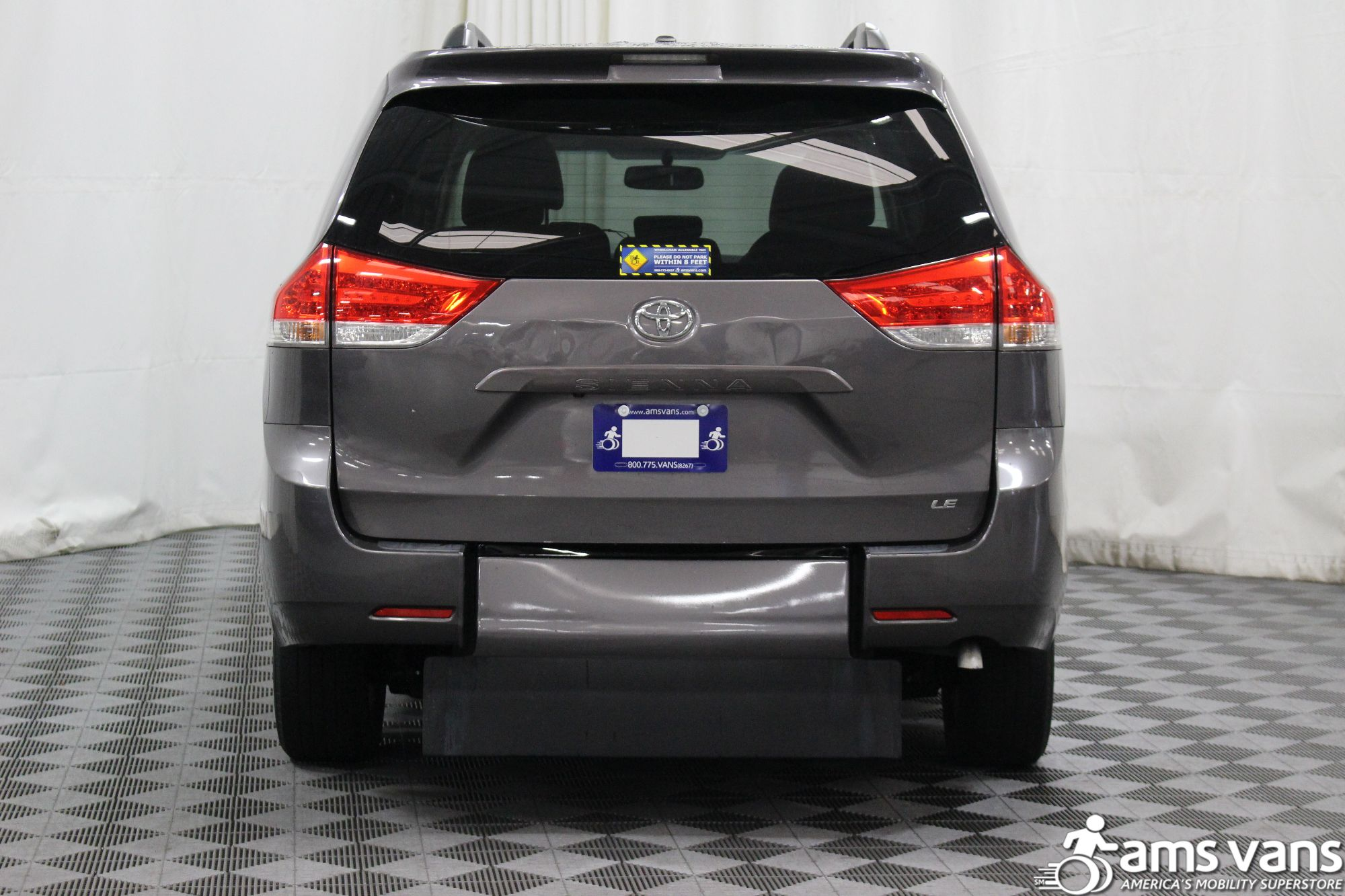 2011 Toyota Sienna LE Wheelchair Van For Sale #12
