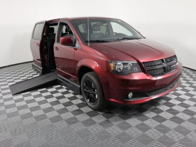 Handicap Van for Sale - 2019 Dodge Grand Caravan SXT Wheelchair Accessible Van VIN: 2C7WDGCG1KR796219
