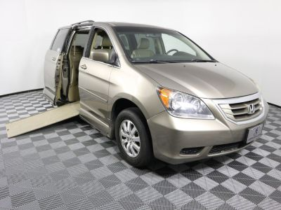 Used Wheelchair Van for Sale - 2010 Honda Odyssey EX-L Wheelchair Accessible Van VIN: 5FNRL3H63AB109337