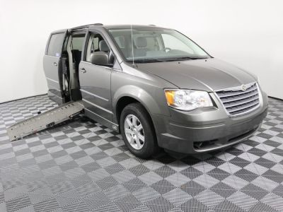 Handicap Van for Sale - 2010 Chrysler Town & Country Touring Wheelchair Accessible Van VIN: 2A4RR5D17AR468175