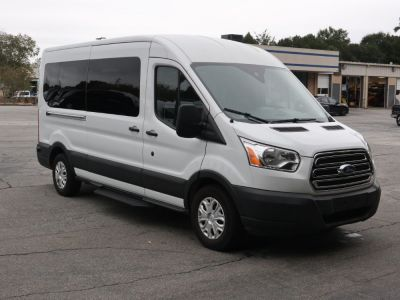 Handicap Van for Sale - 2019 Ford Transit Passenger Mid-Roof 350 XLT - 12 Wheelchair Accessible Van VIN: 1FDAX2CM2KKA31117
