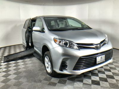 New Wheelchair Van for Sale - 2019 Toyota Sienna LE Standard Wheelchair Accessible Van VIN: 5TDKZ3DC9KS005671
