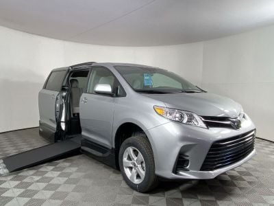 New Wheelchair Van for Sale - 2020 Toyota Sienna LE Mobilty Wheelchair Accessible Van VIN: 5TDKZ3DC2LS080147