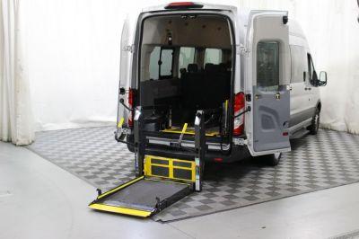 Commercial Wheelchair Vans for Sale - 2018 Ford Transit Passenger 350 XLT ADA Compliant Vehicle VIN: 1FBVU4XMXJKA48531